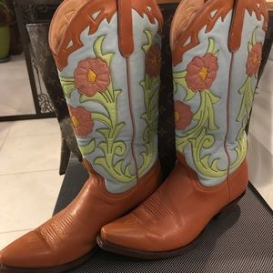 Old Gringo Boots Size 9B